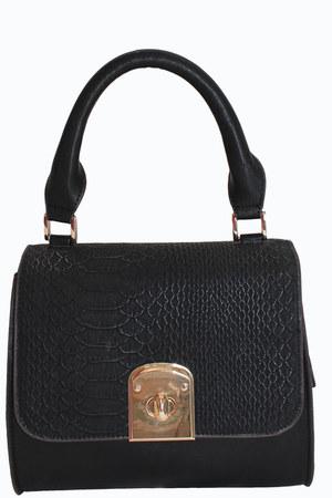 black unbranded bag