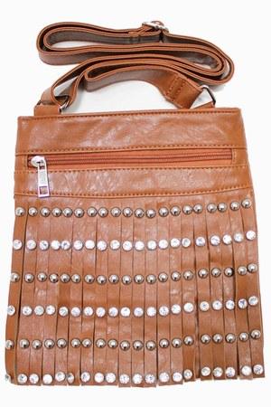 tawny unbranded bag