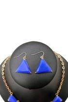 Blue Unbranded Necklaces
