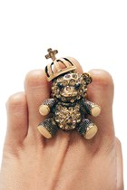 camel teddy bear unbranded ring