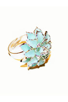 aquamarine unbranded ring