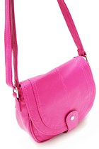 hot pink satchel unbranded bag