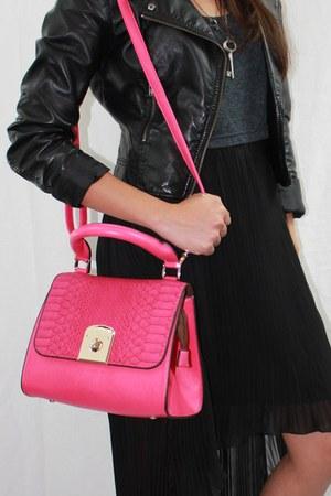hot pink hot pink unbranded bag