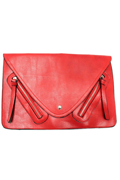 red envelope clutch unbranded bag