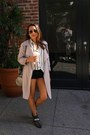 Black-schutz-boots-heather-gray-forever-21-coat-off-white-h-m-shirt