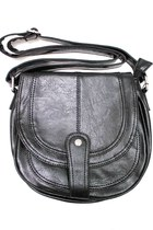 black satchel unbranded bag