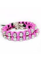 Hot-pink-unbranded-bracelet