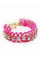 hot pink unbranded bracelet