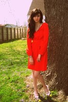 Mossimo dress - payless wedges - vintage bracelet