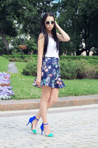 Zara skirt - Topshop top