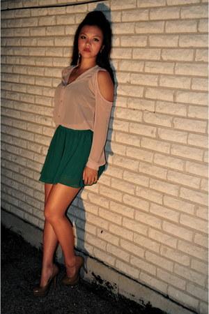 Forever21 blouse - Forever21 skirt