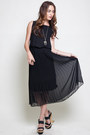 Chiffon-pleated-dress