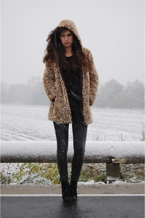 Zara coat - Zara boots