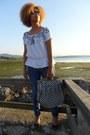 Blue-blanco-jeans-blue-stradivarius-bag