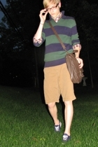 Chaps sweater - American Eagle shirt - Mossimo shorts - Keds shoes - Kenneth Col