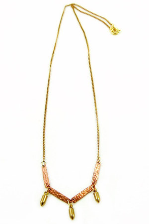 mustard Jonelle Maira necklace