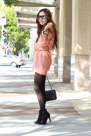 knit dress H&M dress - bracelets PUBLIK accessories