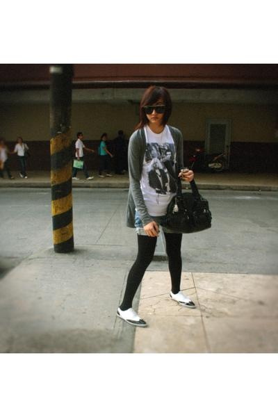 Topshop - Topshop shirt - shorts - tights - Kartel - Kipling purse