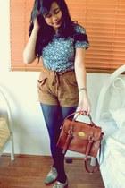 tawny cotton on shorts