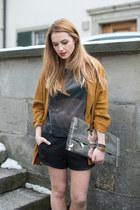 Masion Margiela bag - Zara blazer