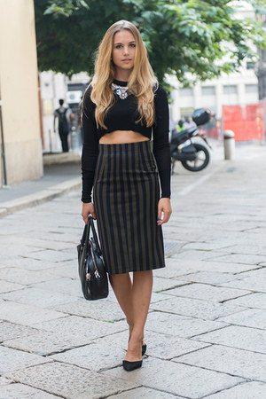 Zara skirt - Zara top