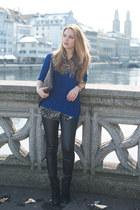 Zara leggings - Zara jumper