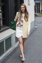 Zara jacket - Bershka jumper - Zara skirt
