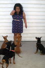 Purple-forever21-dress-brown-gap-shoes