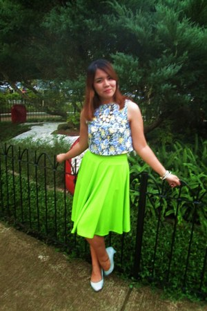 vintage blouse - Denise Diandra skirt