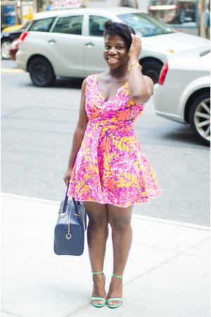 Brigette Clarice dress - H&M bag - Zara heels