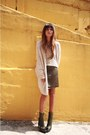 Army-green-proenza-schouler-boots-beige-knitted-ecote-sweater