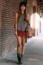 Suede-f21-skirt-proenza-schouler-boots-alexander-wang-bag-ovi-blouse