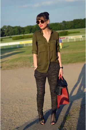 Zara shirt - H&M pants