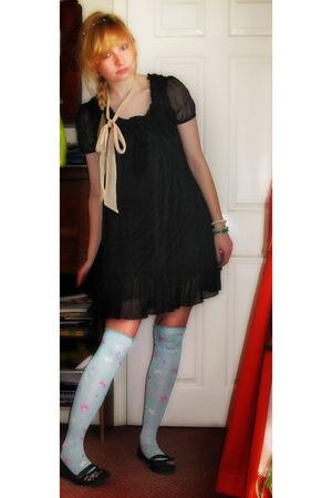 blue Baby the Stars Shine Bright socks - black Rocket Dog shoes - black asos dre