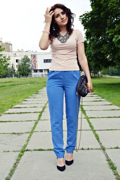 blue kira plastinina pants