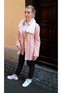 Light-pink-new-yorker-coat-white-primark-shirt-beige-rebecca-minkoff-bag