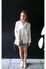 White-lecoindelle-jacket-neutral-rebecca-minkoff-bag