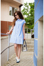 White-brogues-zenden-shoes-light-blue-a-line-shirt-frontrowshop-dress