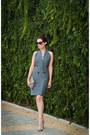 Heather-gray-oversized-vest-bray-steve-alan-dress