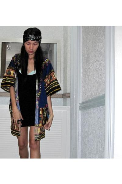 9c872b1fb9 Bik Bok little black dress - worn as turban scarf - -like cover up  anagoncollect