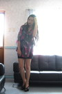 Little-black-dress-dept-store-sheer-oversized-top-charles-keith-heels