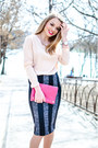 Hot-pink-six-bag-light-pink-suiteblanco-heels-light-pink-lefties-blouse
