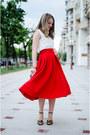 Gold-h-m-bag-black-zara-sandals-white-lefties-blouse