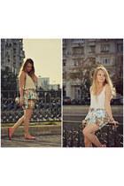 Zara skirt - BLANCO bag - pull&bear top - Stradivarius bracelet