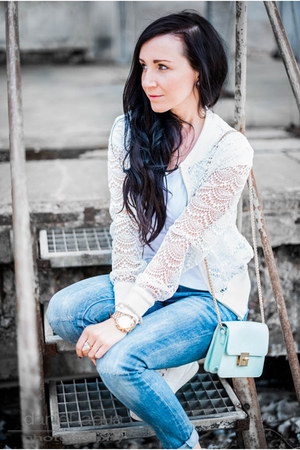 lace blouson Mrs Foxworthy jacket