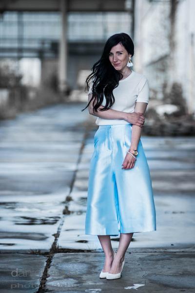 satin culottes Glamorous pants