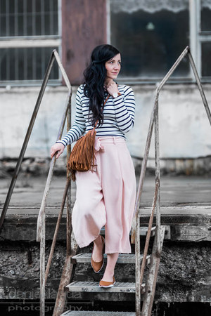 light pink culottes River Island pants