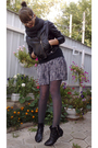 Gray-stradivarius-skirt