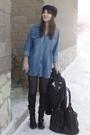 Blue-vintage-shirt