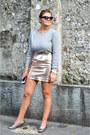 Eggshell-river-island-skirt